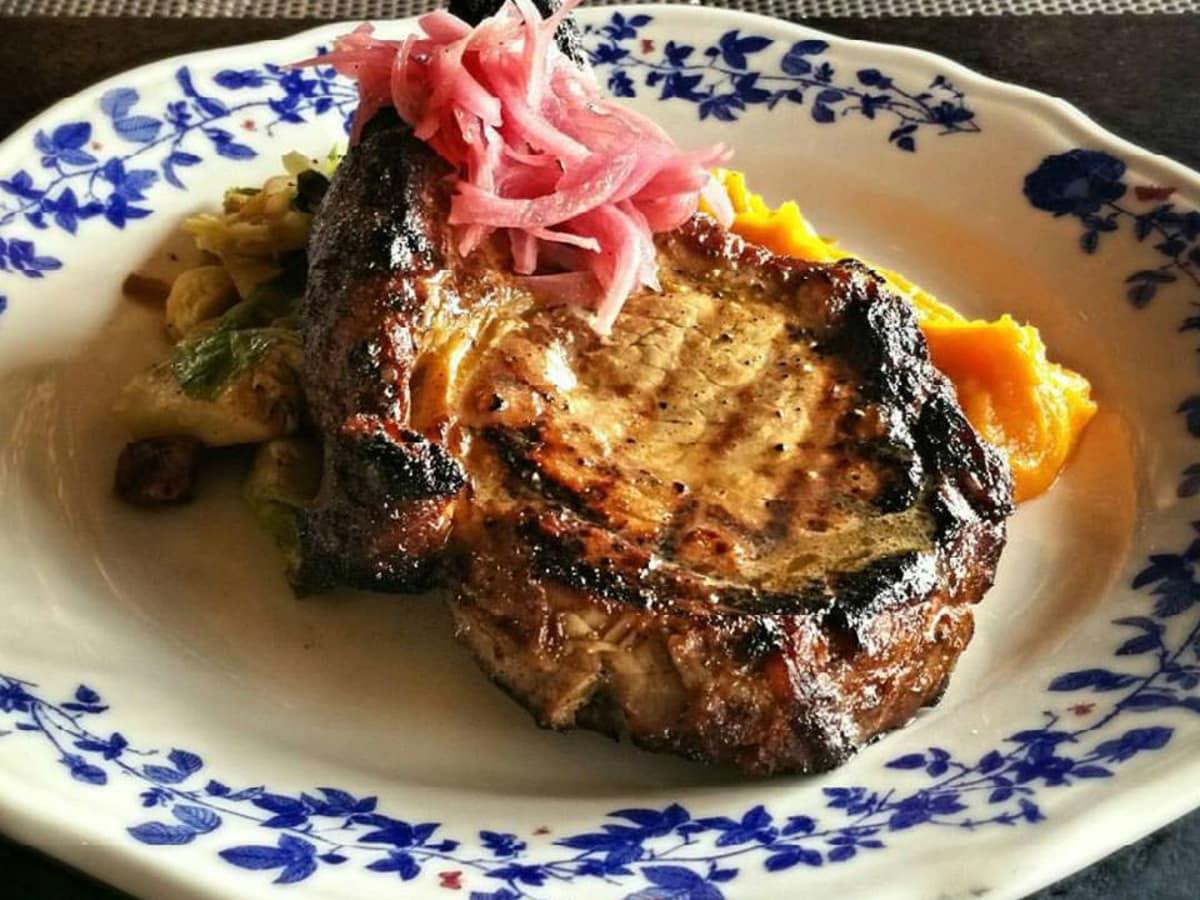 Ida Claire pork chop