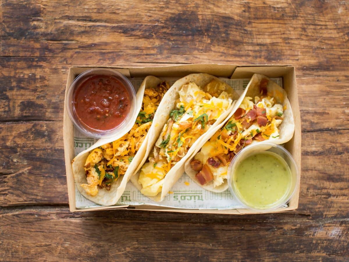 Rico's Breakfast Tacos