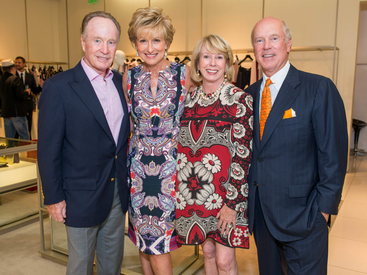 News, Shelby, Heart of Fashion Valentino party, Sept. 2015, Mike & Veronica Curran, Marie & Bill Wise