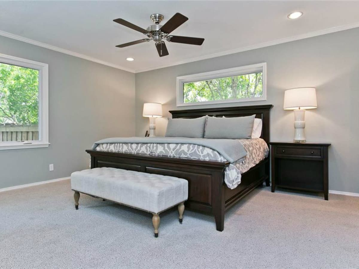 Master bedroom at 9722 Boedecker in Dallas