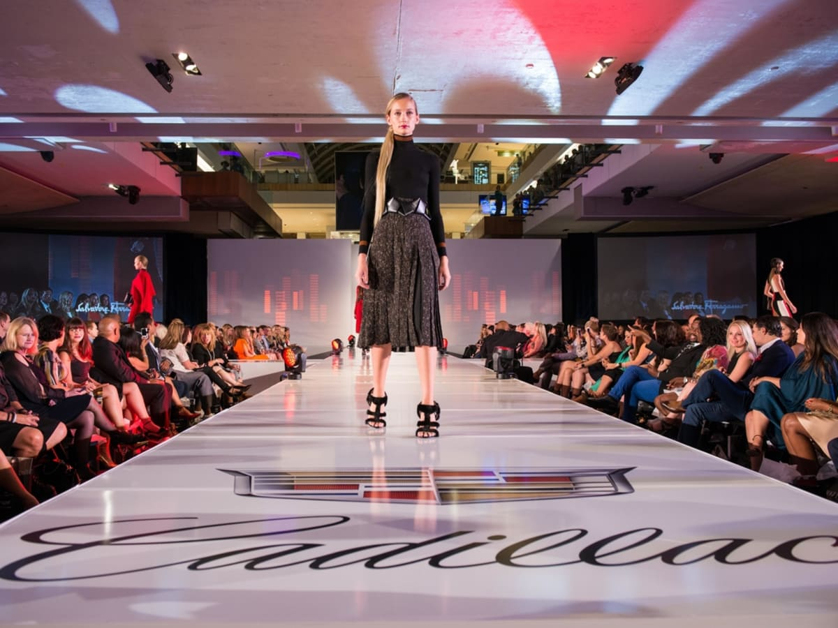Houston, Vogue Simon Fashion Show, September 2015, runway model