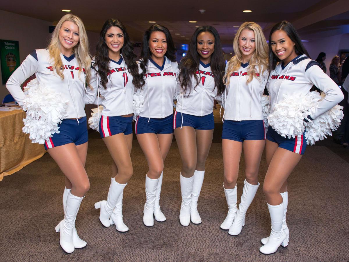 Fantasy Football draft 2015 Houston Texans cheerleaders