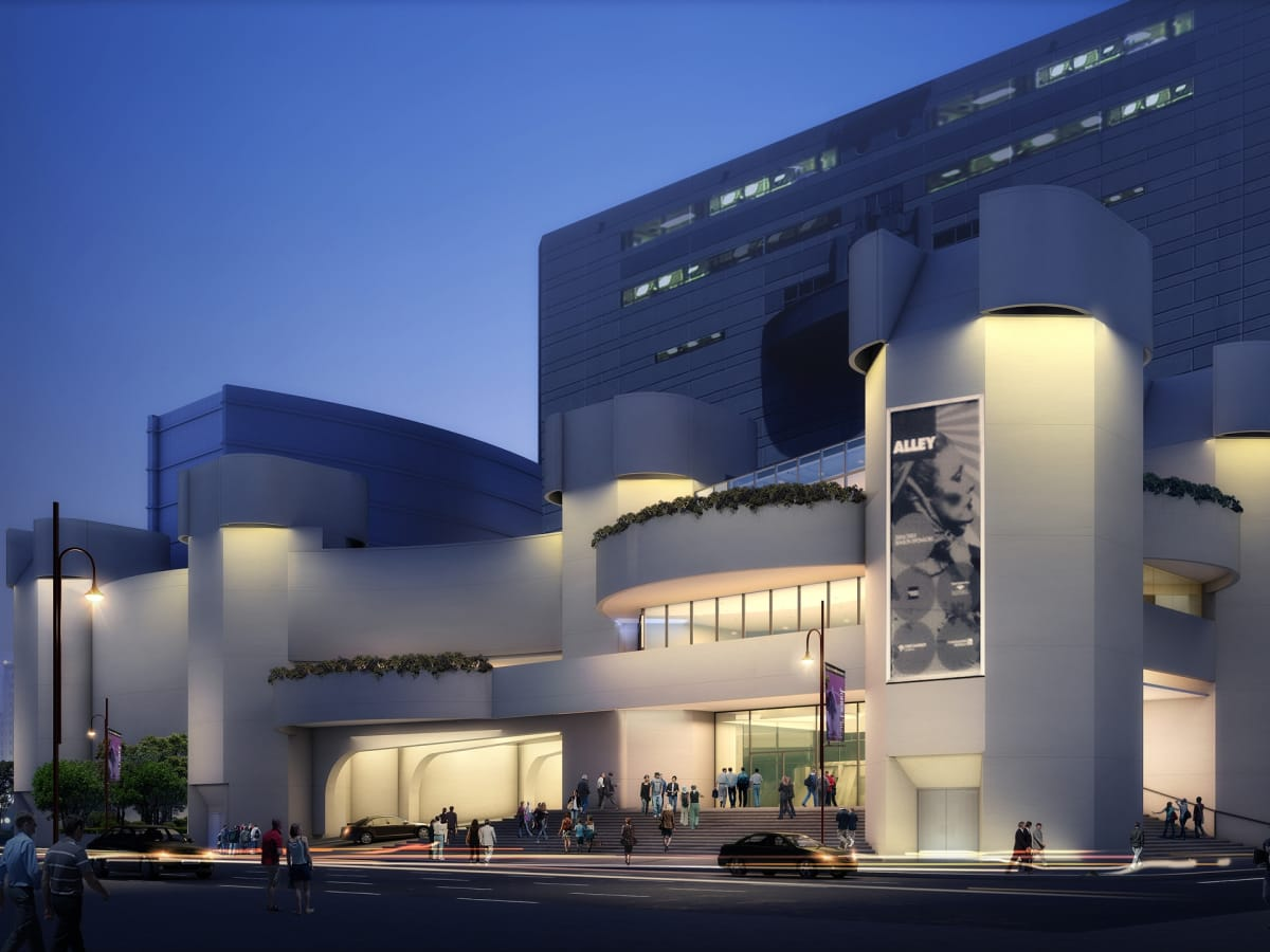 News, Shelby, Alley Theatre rendering, September 2015