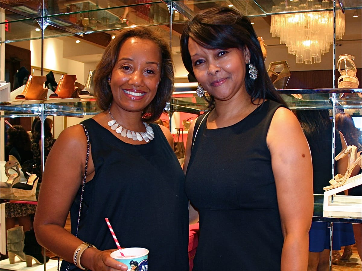 News, Shelby, Recipe for Success kick-off, Sept. 2015, Arvia Few, Wondy Weston