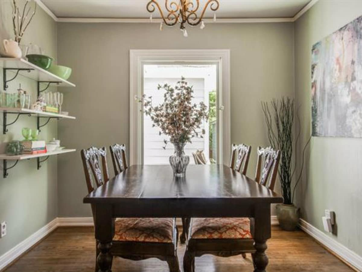 Dining room at 6051 Penrose Ave. in Dallas