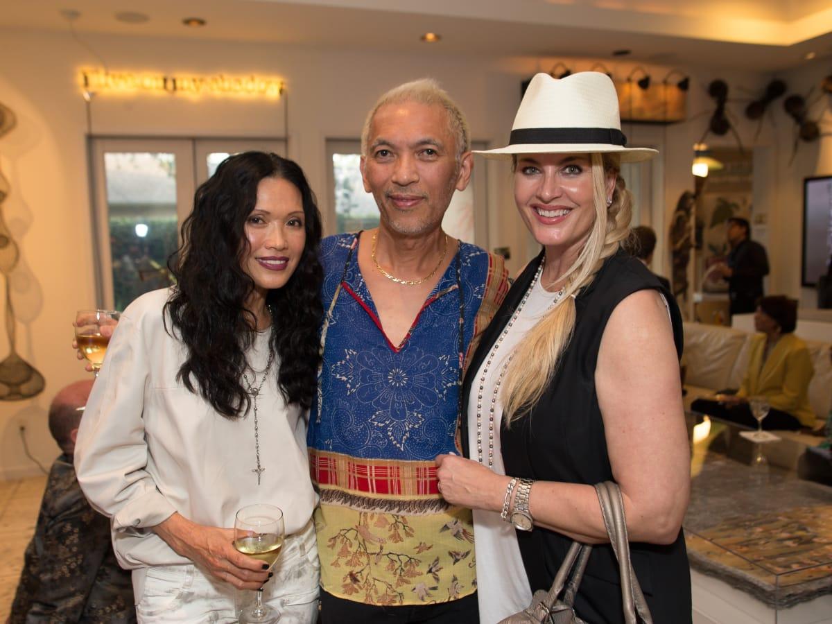 News, Shelby, Fine Art Fair Kick-off, Sept. 2015, Duyen Huynh Nguyen, Marc Nguyen, Kimberly DeLape