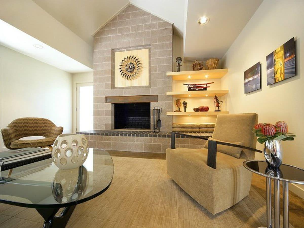 Porch.com fireplace