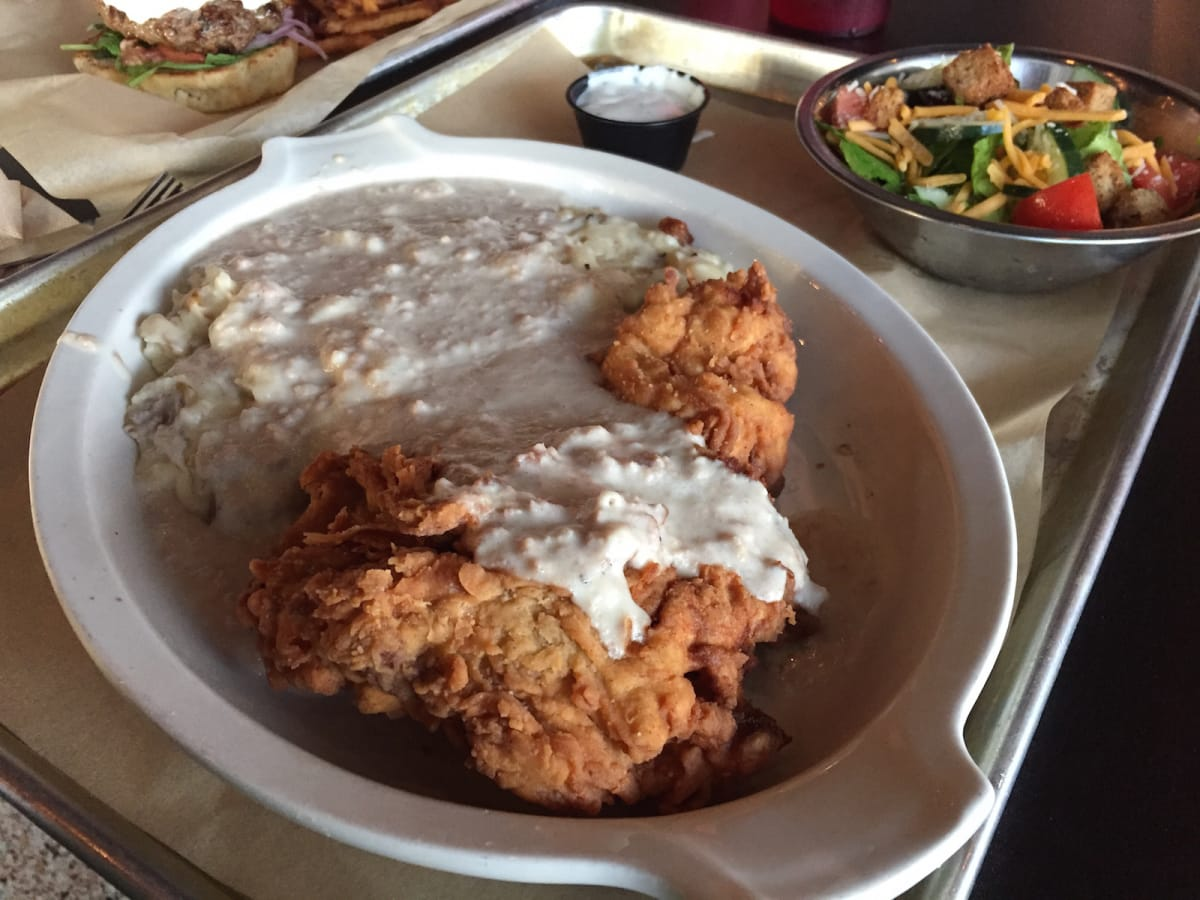 Tapester's Grill chicken fried steak