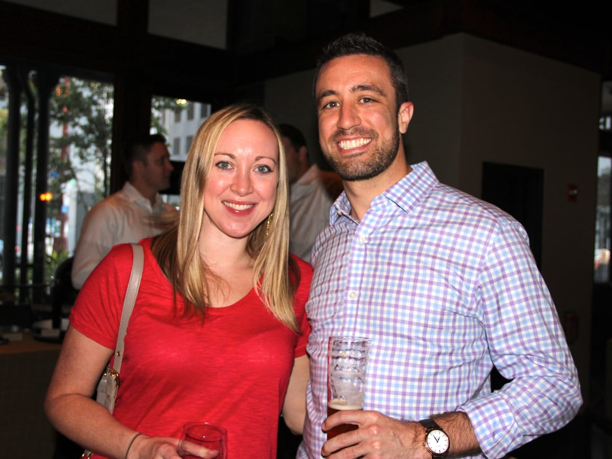 Houston, Friends of Depelchin Back to School Happy Hour, August 2015, Nikki Hanley, Marc Chagnon