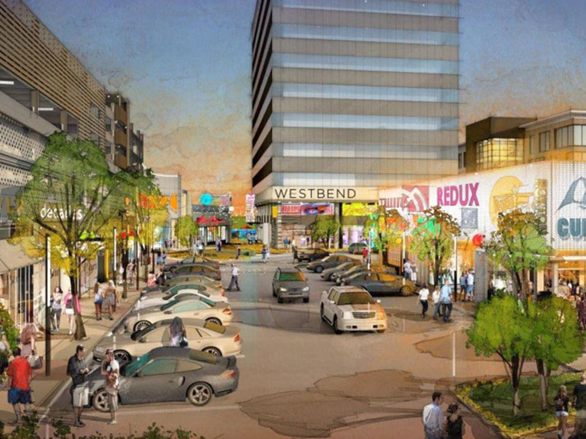 Rendering of West Bend in Fort Worth