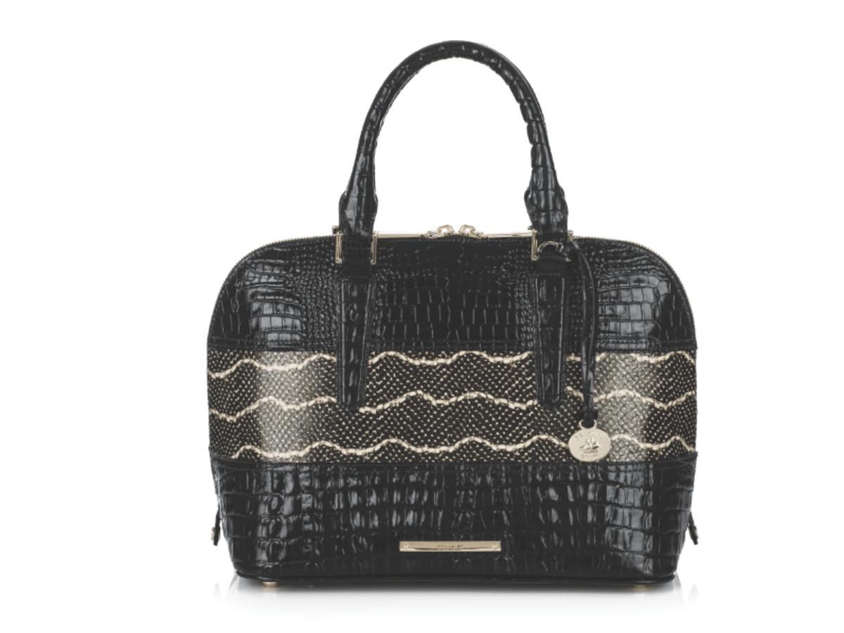 Brahmin Black Mandana Vivian handbag