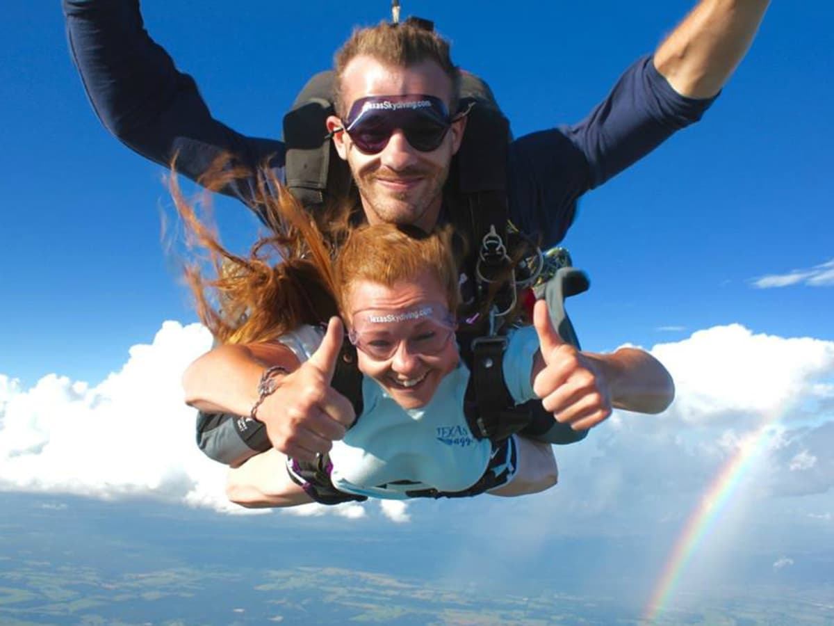 Texas Skydiving Center Lexington tandem dive