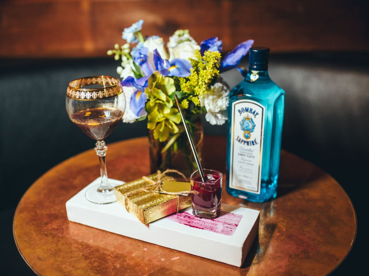 Bombay Sapphire Most Imaginative Bartender Van Gogh cocktail