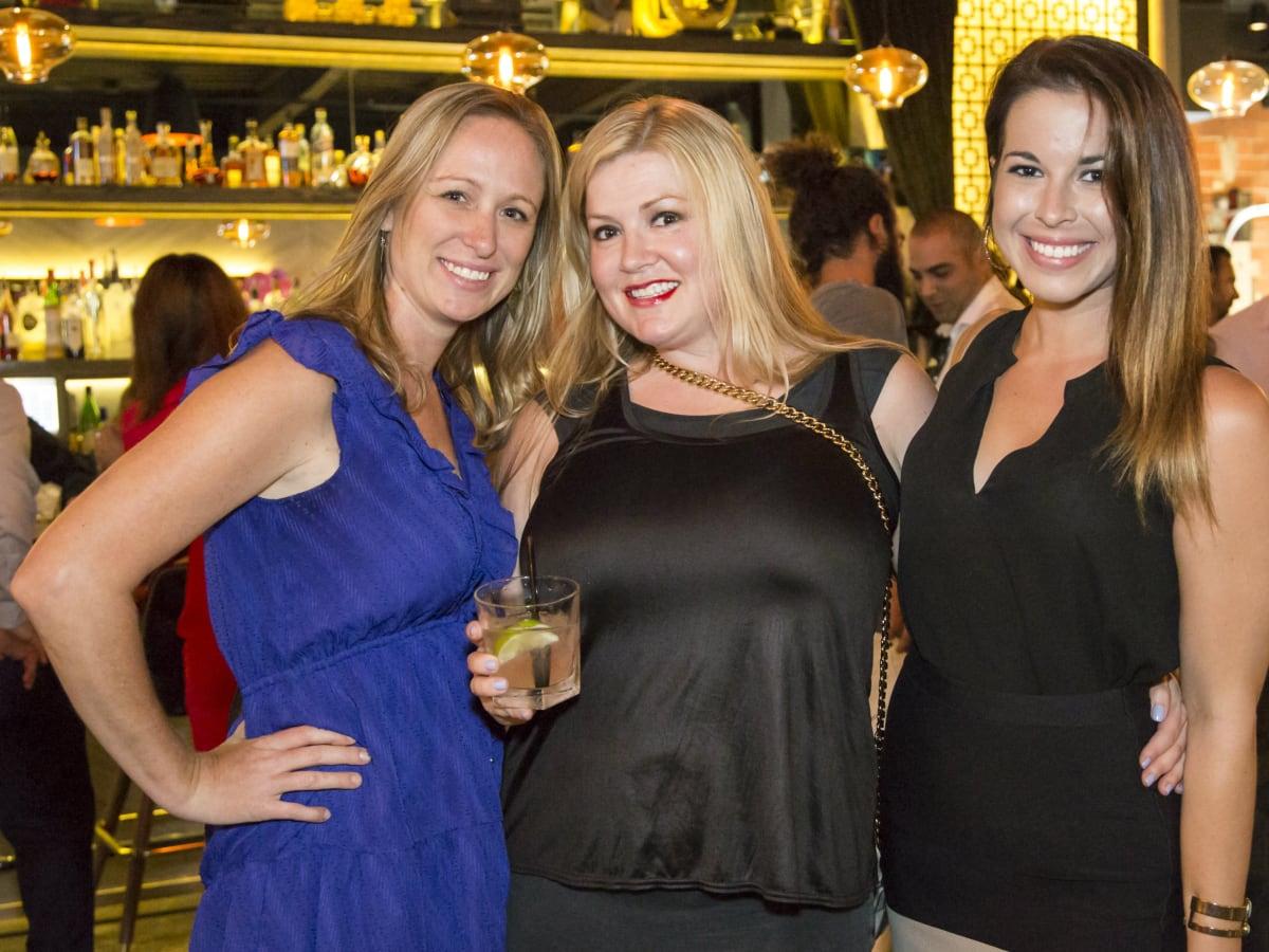 Yvonne Conard, Leslie Marical, Elise Stover