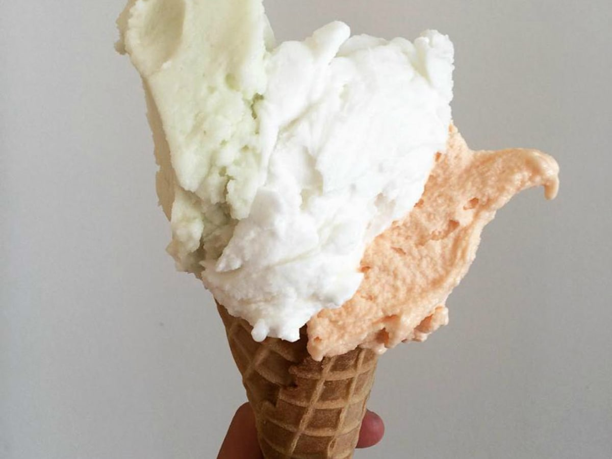 South Alamode Panini & Gelato Company ice cream cone