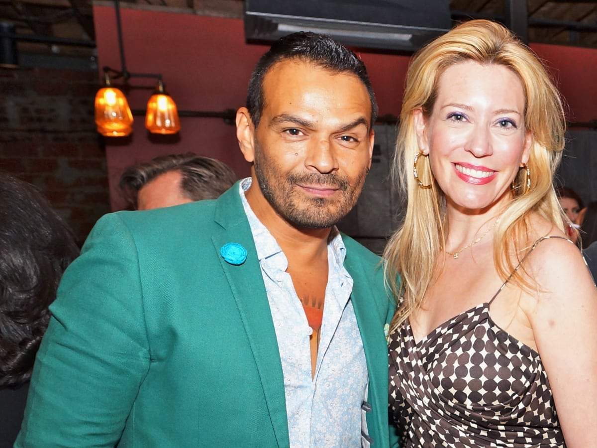 Houston, Roseann Rogers and Lara Bell birthday party, August 2015, Todd Ramos and Mauri Oliver
