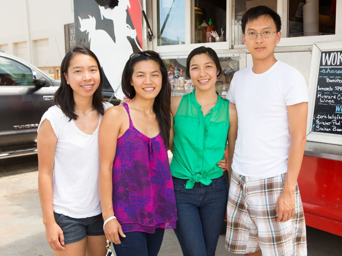 News, Shelby, Opera in the Heights party, August 2015,  Clare Nguyen, Jamie Nguyen,Sydney Nguyen, Allan Mak