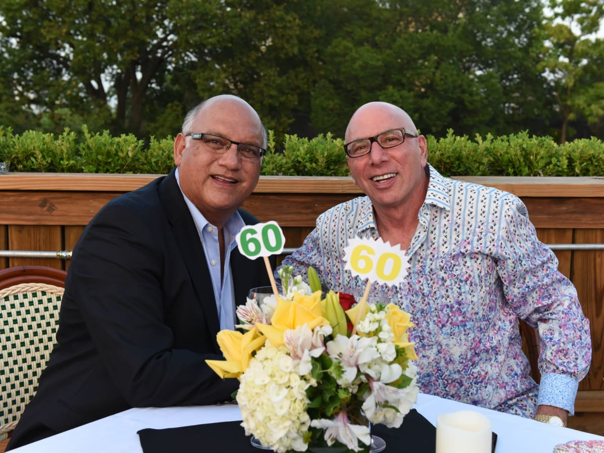 News, Shelby, Peter Remington 60th birthday, August 2015, Dr. Rred Aguilar, Dr. Franklin Rose