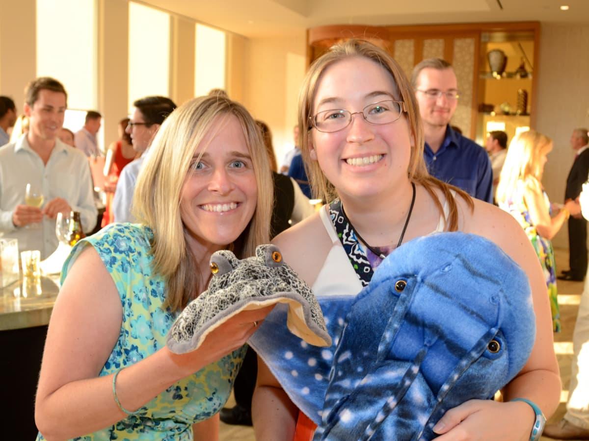 YP Zoo Aug 2015 Renee Bumpus, Krista Telljohann