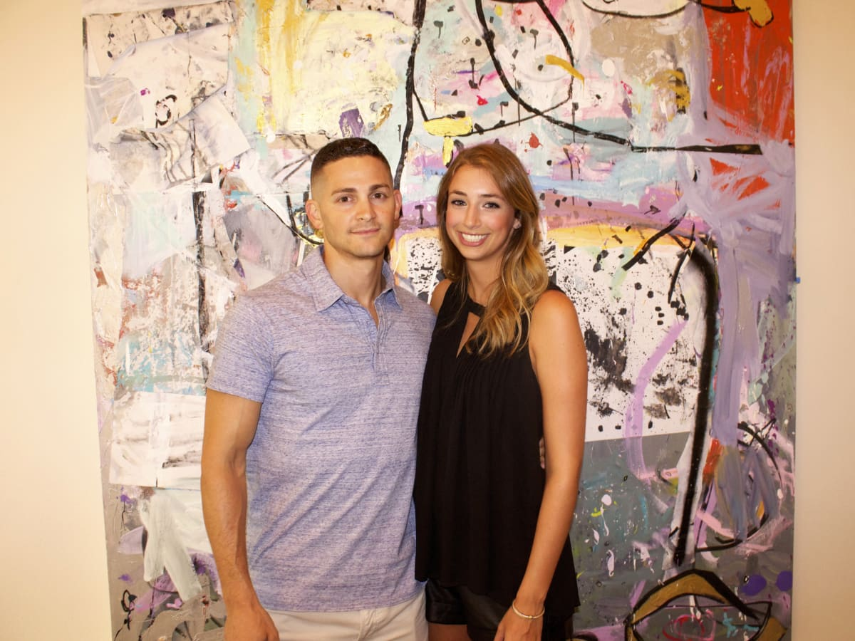 Houston, Chita Johnson engagement party, July 2015,  Dean Zubowski and Erin Scheinthal