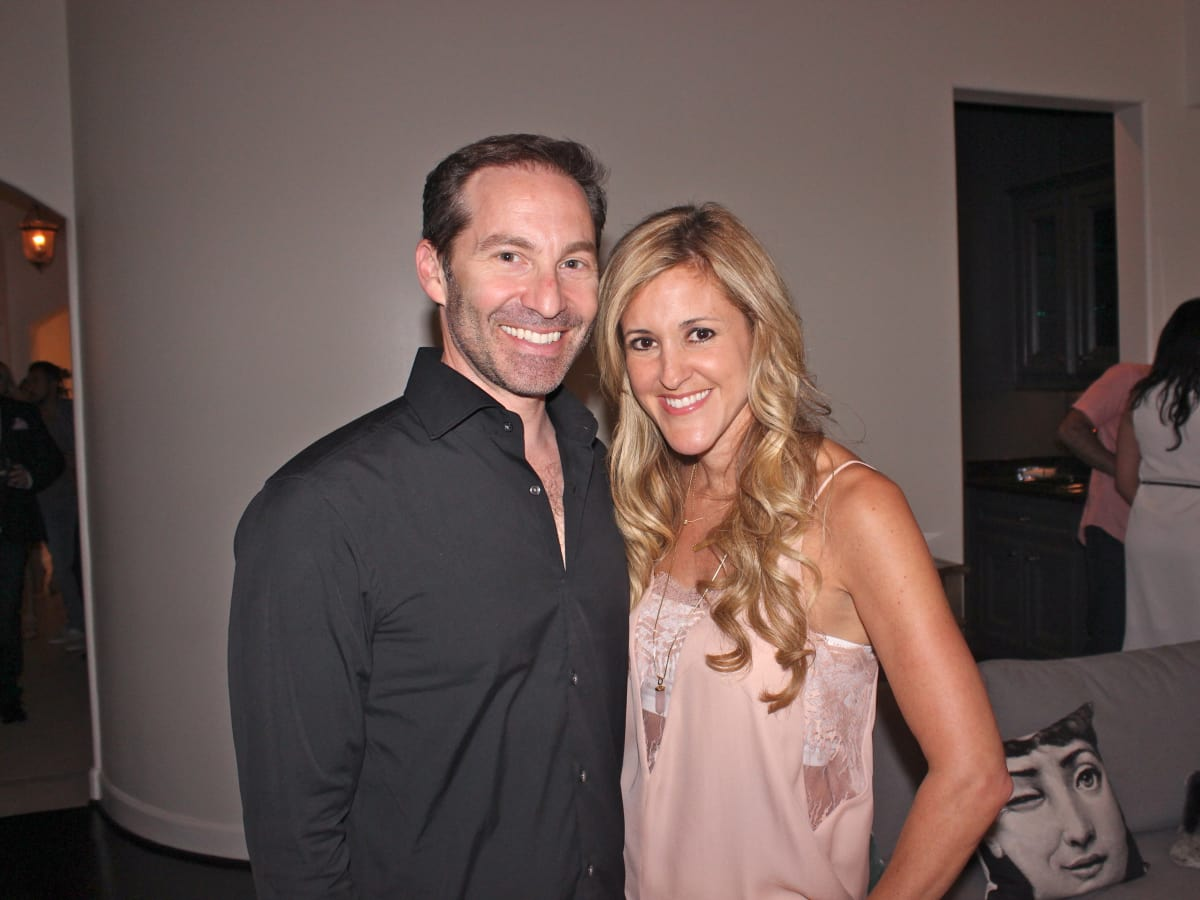 Houston, Chita Johnson engagement party, July 2015, Dr. Eric Haas and Courtney Zubowski Haas