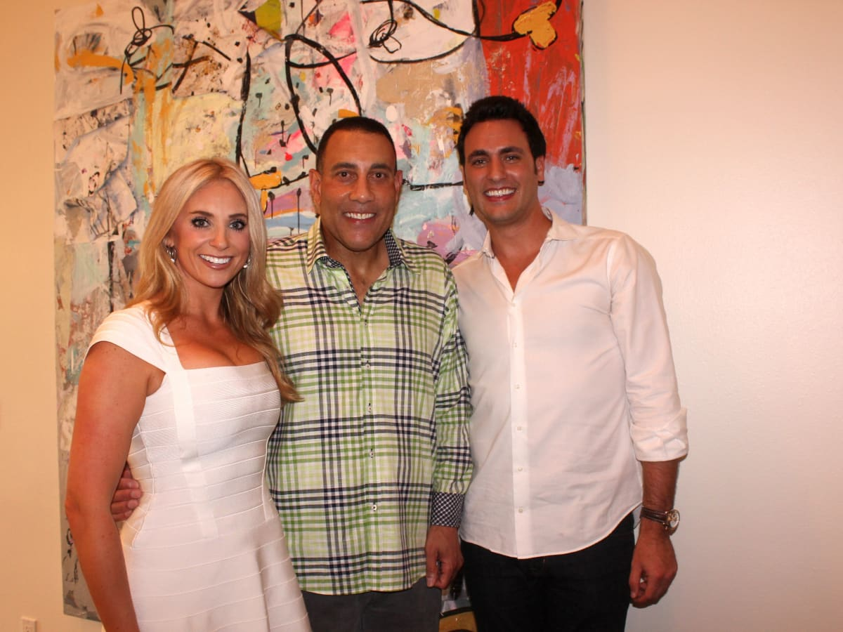 Houston, Chita Johnson engagement party, July 2015, Chita Johnson, Butch Alsandor, Lane Craft