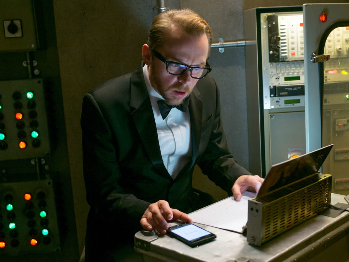 Simon Pegg in Mission: Impossible - Rogue Nation