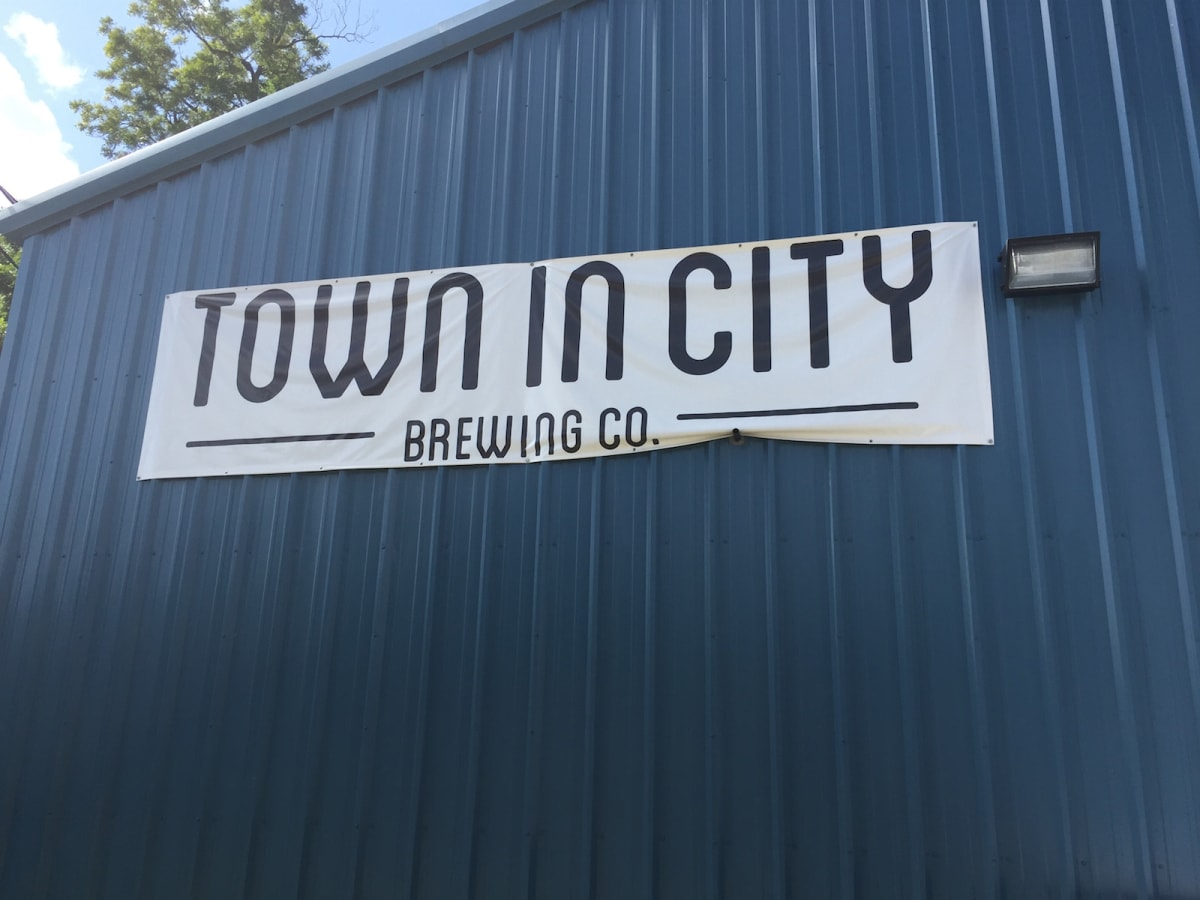 Town in City Brewing building