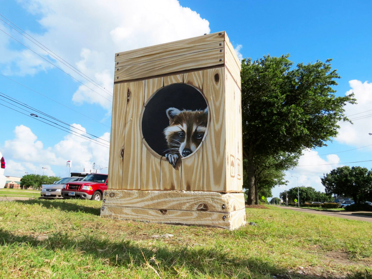 Houston, Mini Murals, July 2015, Anat Ronen