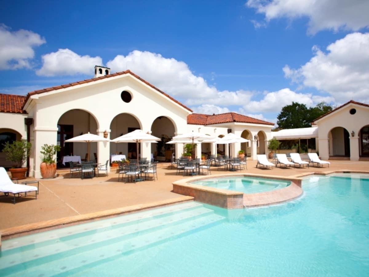 Houston, Hotel Pools, Dos Brisas, July 2015