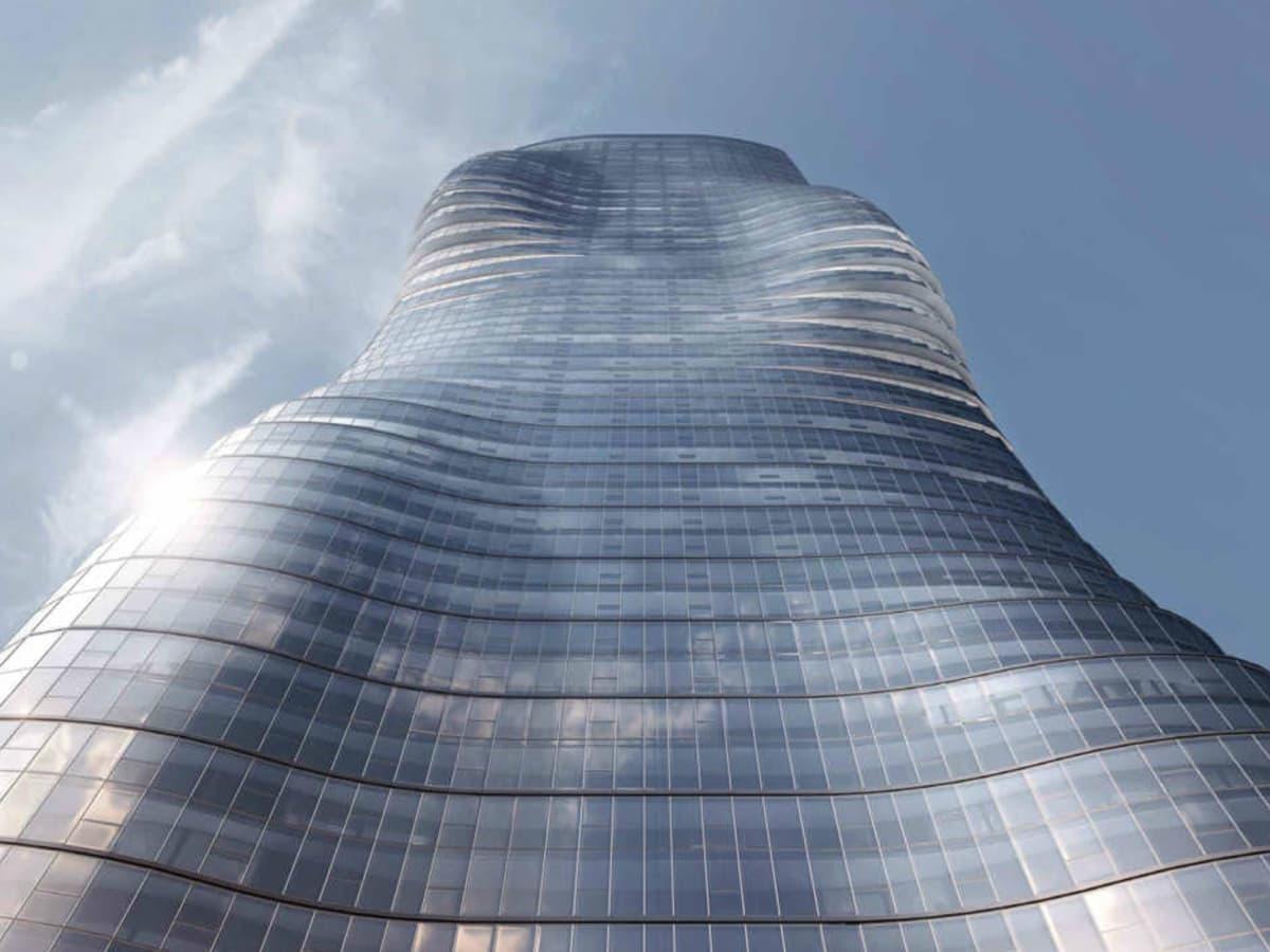 Beyonce curvy skyscraper in Australia