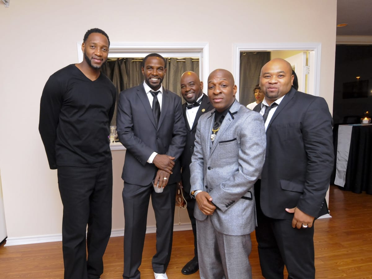 News, Shelby, Random Act of Kindness Kick-off, July 2015, Tracy McGrady, Mike James, Reginald Seastrunk, Joseph Willie Mike Gatling