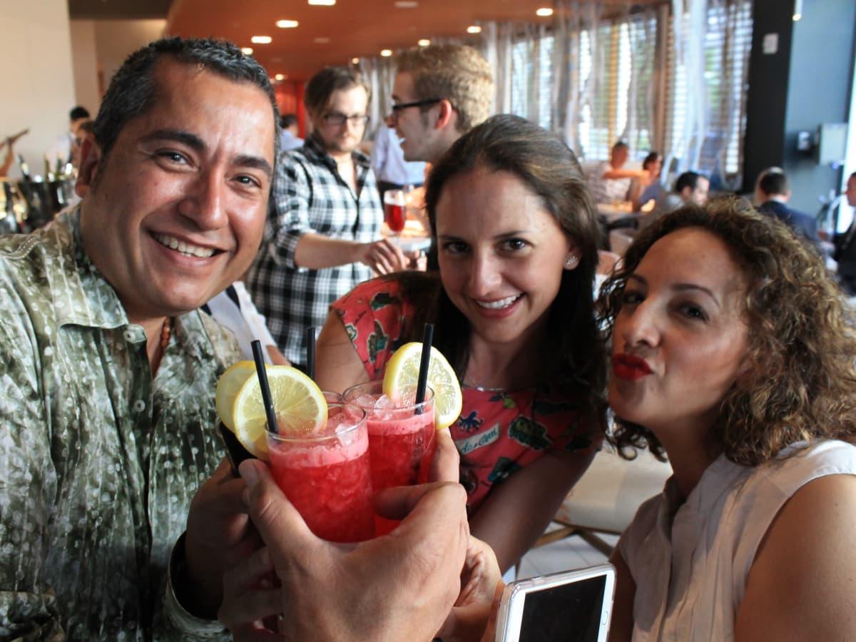 News, Shelby, Omar Pereny's 21st birthday, July 2015,undefinedJorge Olivares, Maite Ysita and Nancy Lehmann