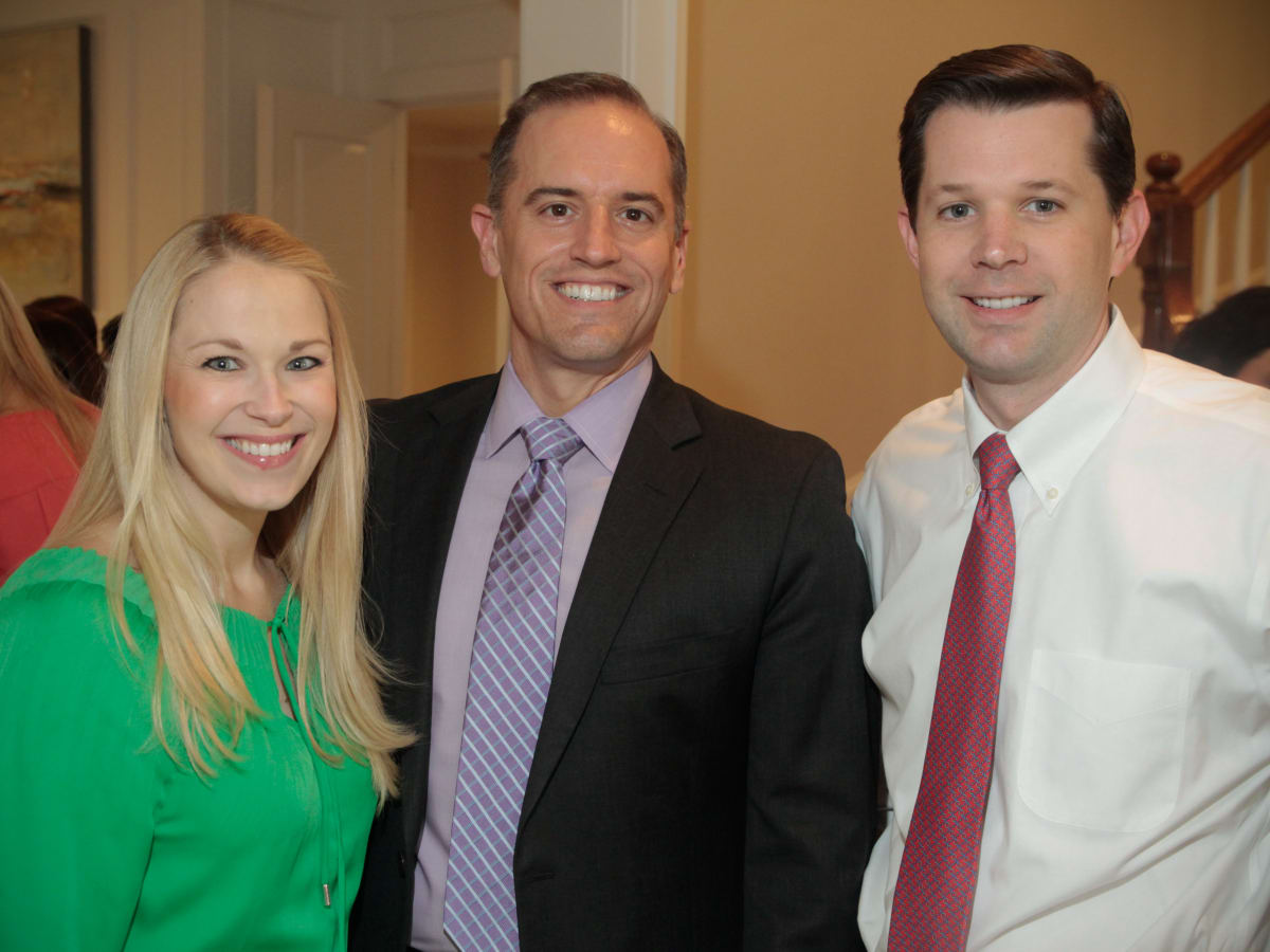 News, Shelby, UTHealth Luminaries, July 2015, Lauren Page, Kevin Foyle and Will Page