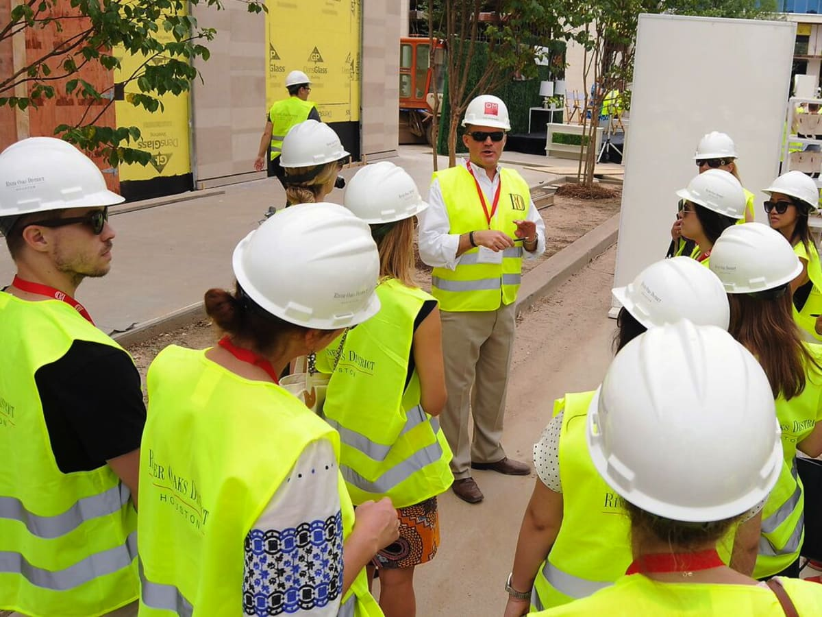 River Oaks District hardhat tour