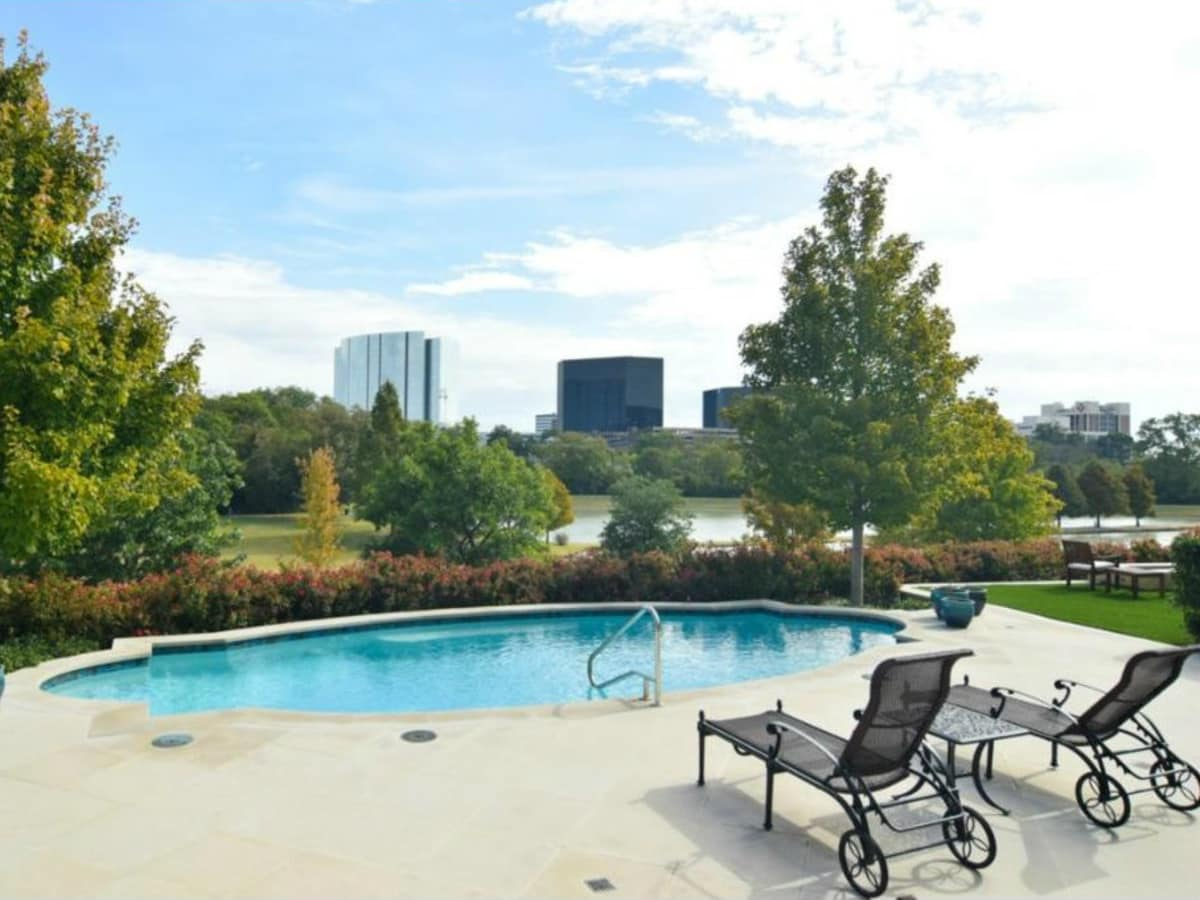 Pool at 12258 Creek Forest Dr. in Dallas