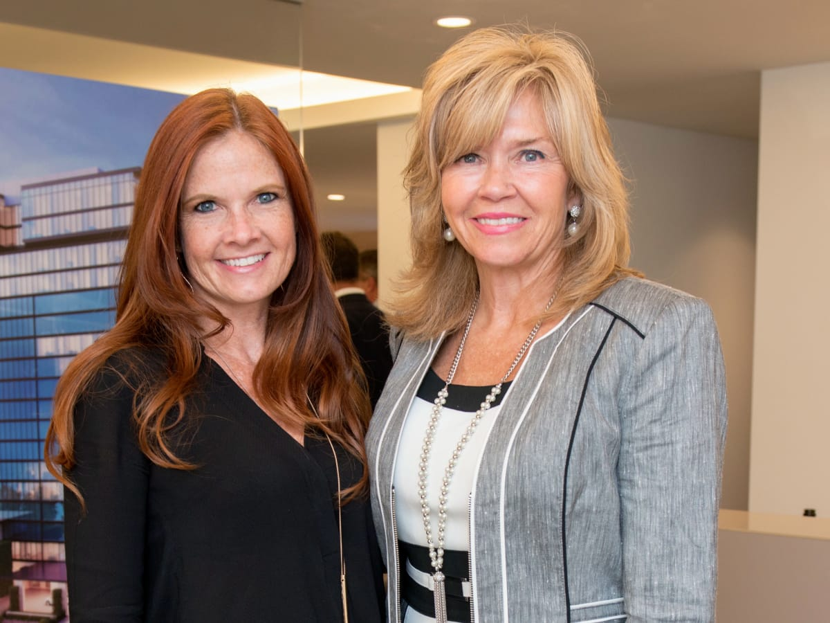 Houston, The River Oaks High Rise Preview Party, June 2015, Scotti Campbell; Jacqueline Elliott