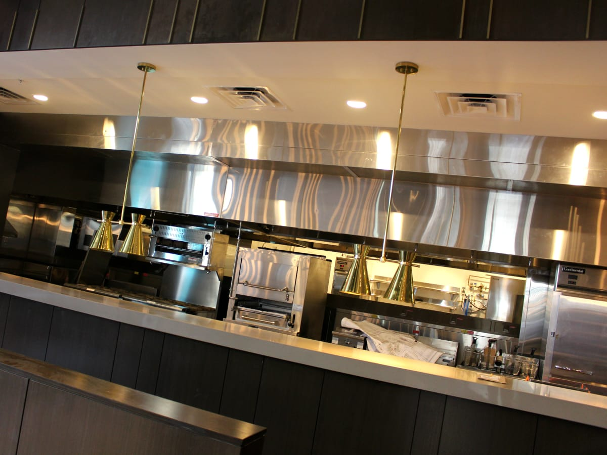 Westin Austin Downtown hotel Stella San Jac kitchen 2015