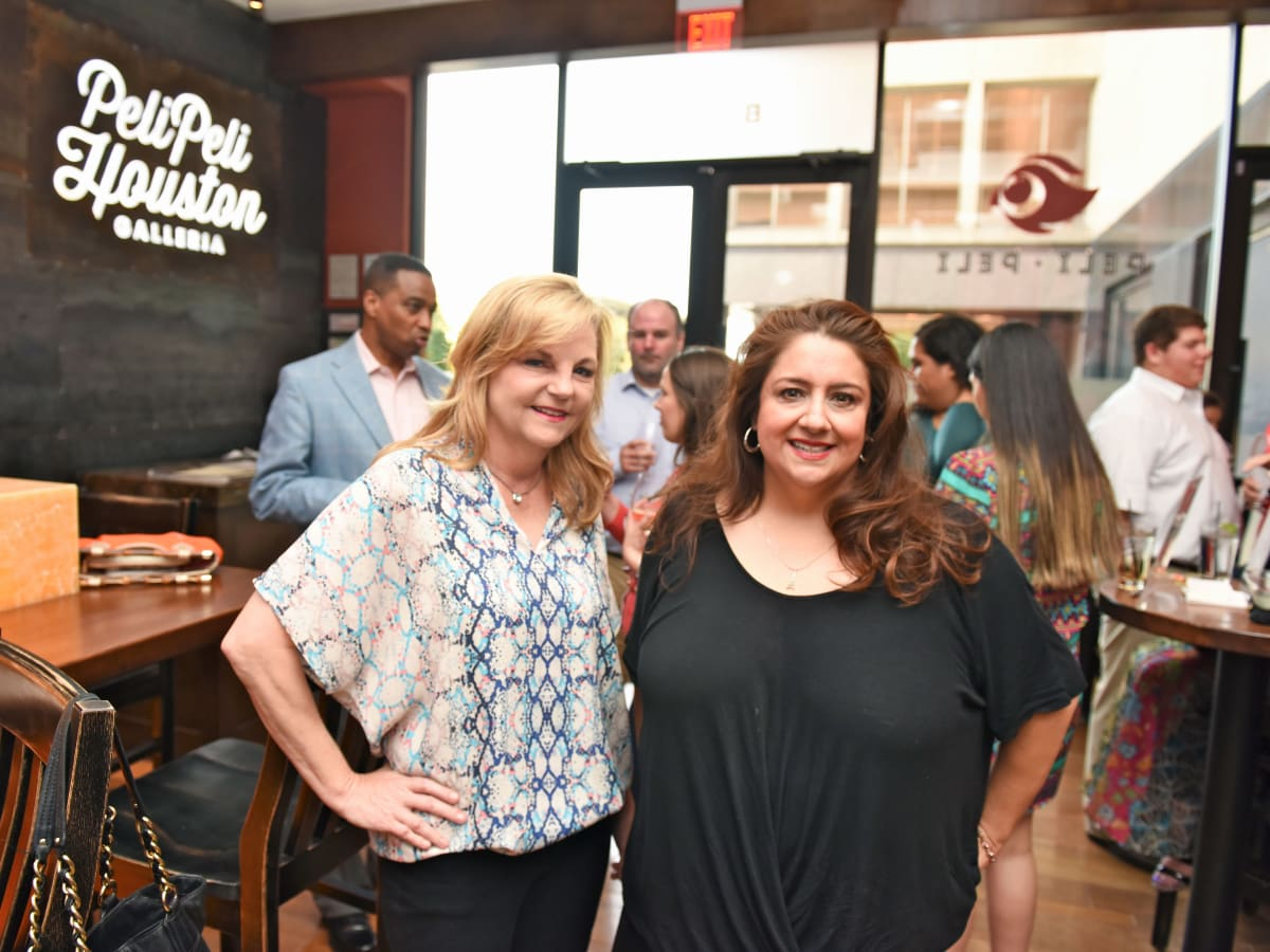Houston, George Springer Bowling Benefit Kick Off, June 2015, Kim Padgett, Sonia Soto