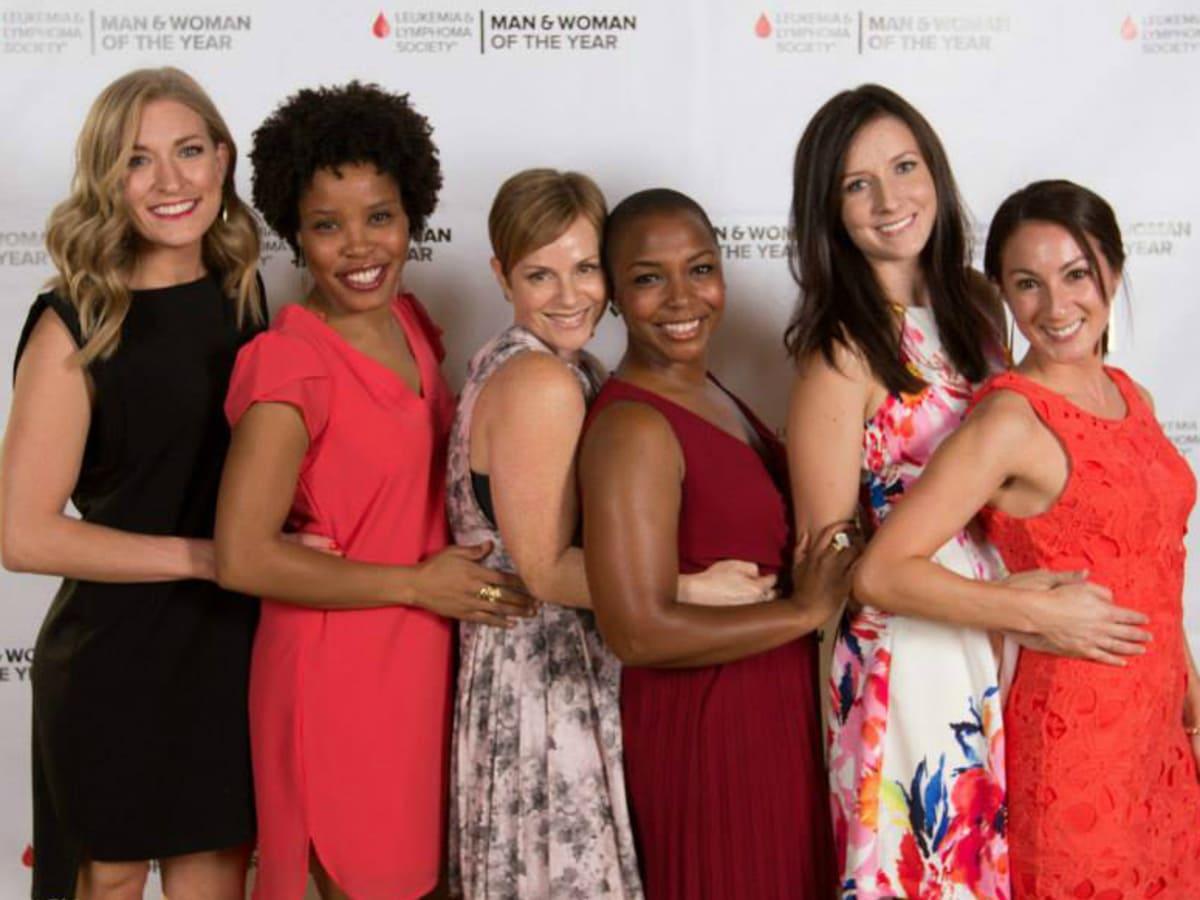 Leukemia & Lymphoma Society's Man & Woman of the Year Gala_Team Krystal_2015