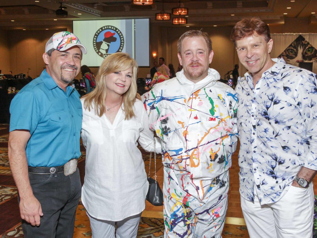 News, Shelby, Citizens for Animal Protection Paint Jam, June 2015, Bruce Padilla, Kim Padgdett, Shelby Kibodeaux, Jon Halber