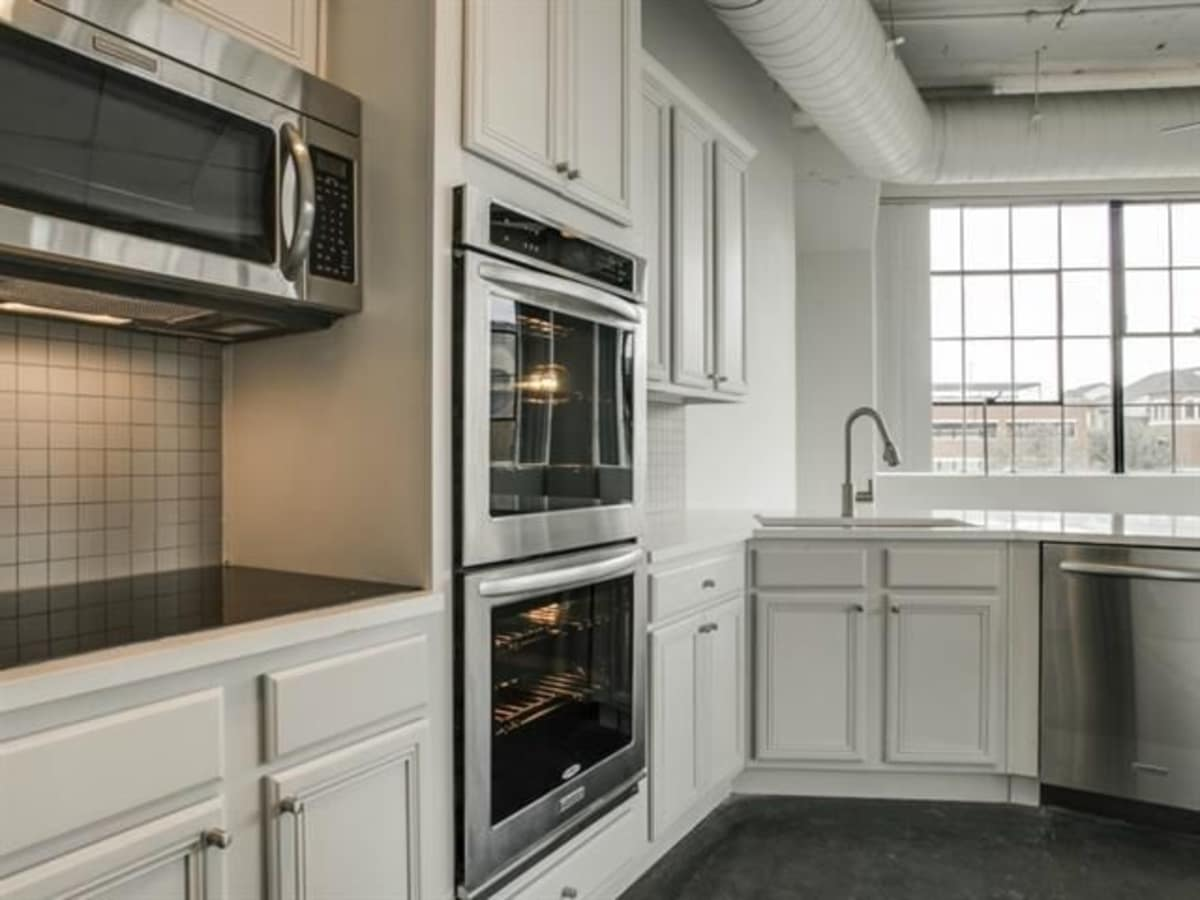 Kitchen at 2220 Canton St. in Dallas