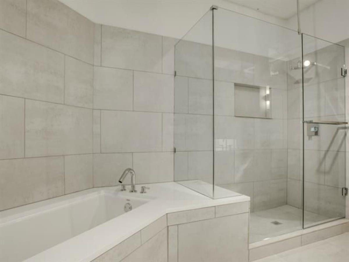 Bathroom at 2220 Canton St. in Dallas