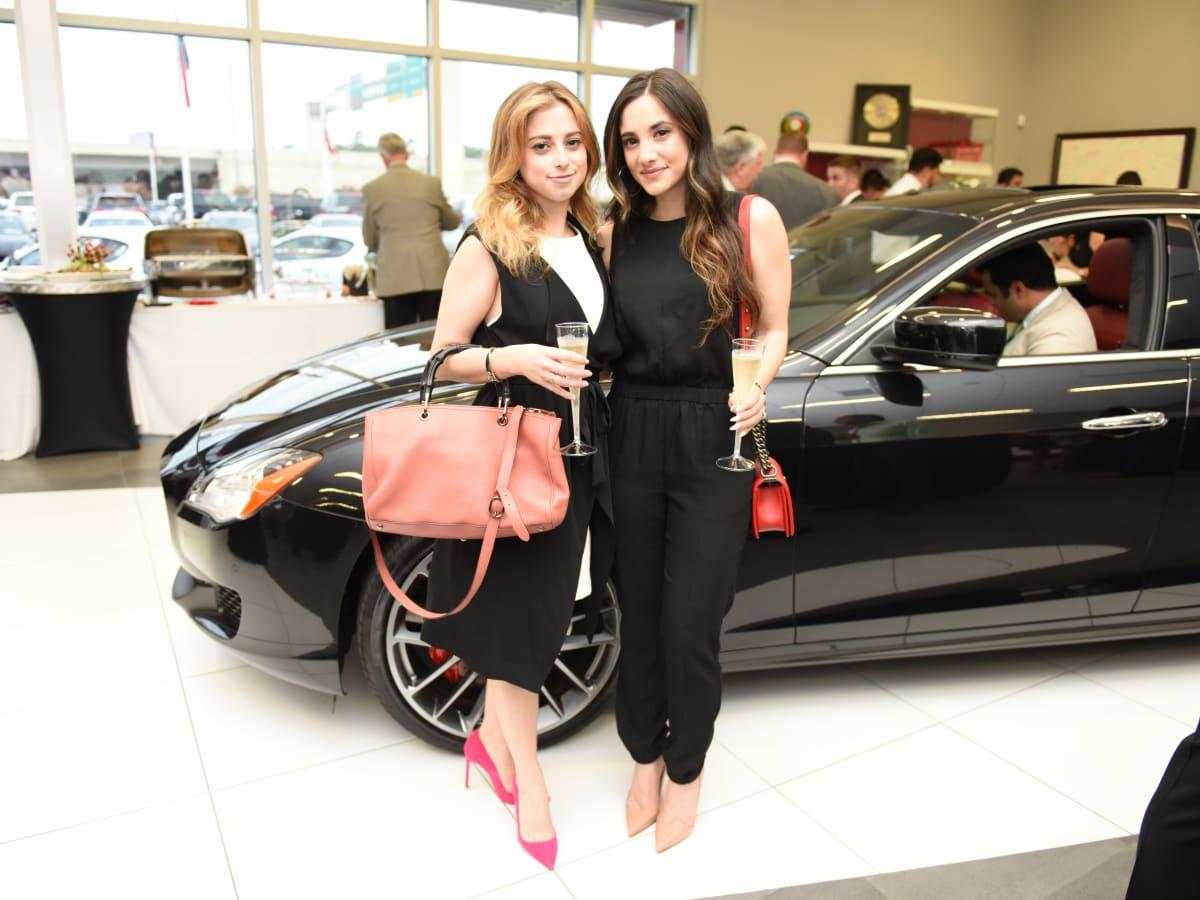 News, Shelby, Helfman Maserati opening, June 2015, Elisabeth Webb, Jessica Meyerson