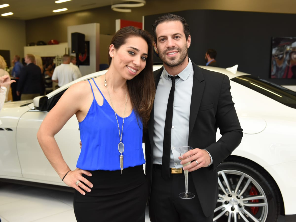 News, Shelby, Helfman Maserati opening, June 2015