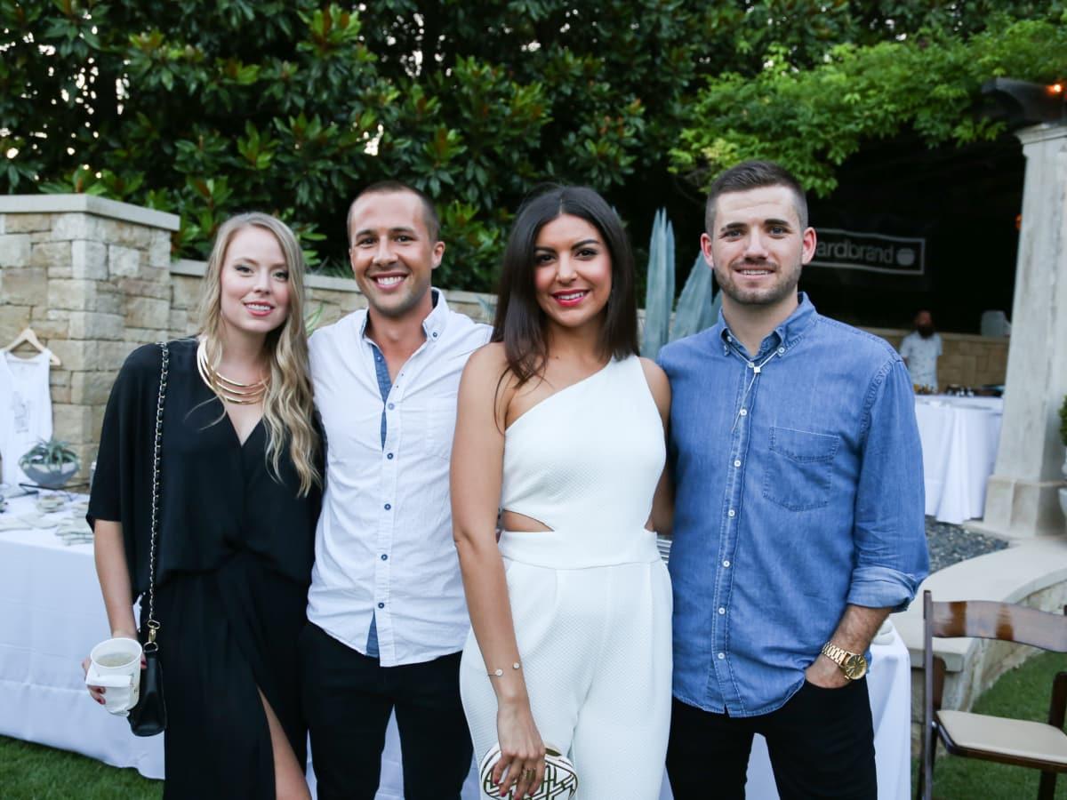 Fashion X Austin Men's Event 2015 Jennifer Harding Lucus Ingram Melissa Rivera Philip Nelson
