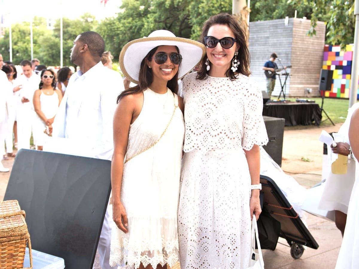 Houston, Diner en Blanc, June 2015, Divya Brown, Kate Stukenberg