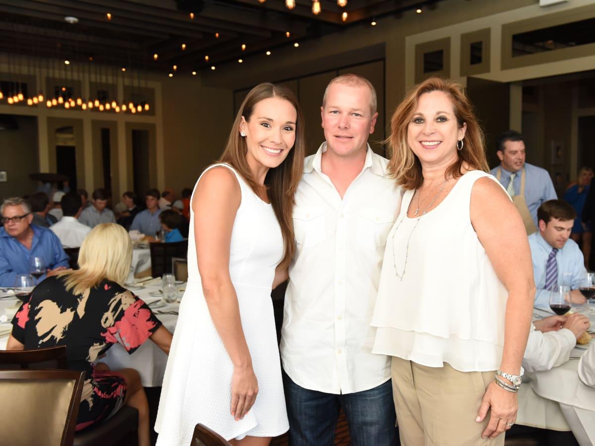 News, Roger Clemens at Vallone's, June 2015,-Leah Hart, Gregg Arnim, & Teresa Moro