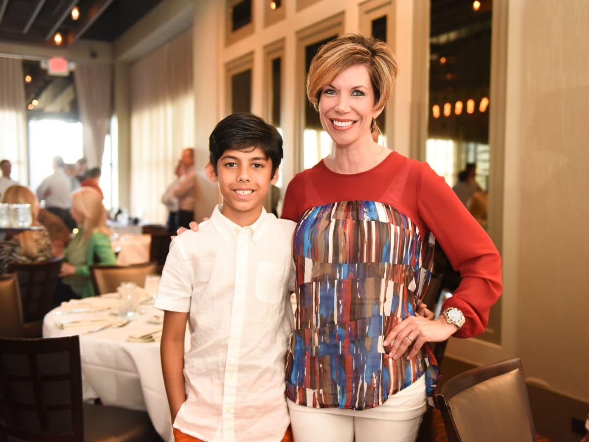 News, Roger Clemens at Vallone's, June 2015, Nikhil Shah & Roseann Rogers