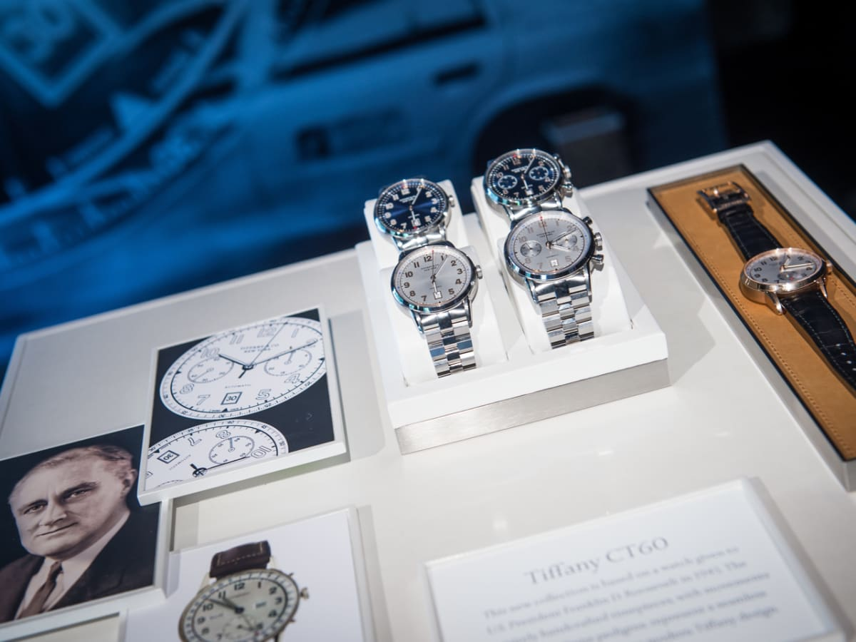 Camerata and Tiffany Watch Launch CT60 presentation